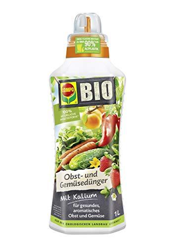Compo BIO Obst- und Gemüsedünger für alle Obst- und Gemüsesorten,...
