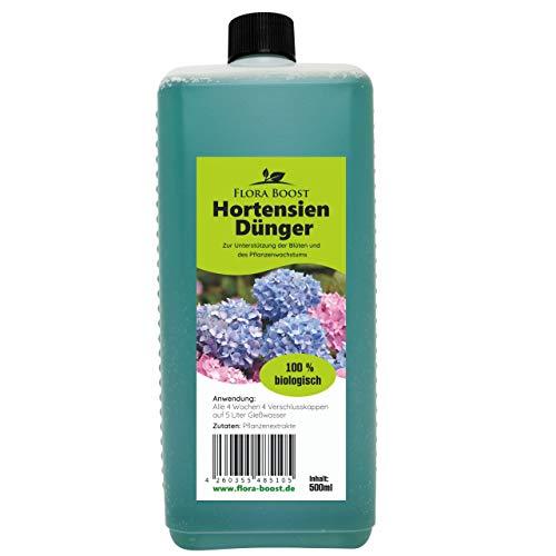 Hortensien Dünger flüssig - Für bis zu 100 Liter Gießwasser (500 ml)