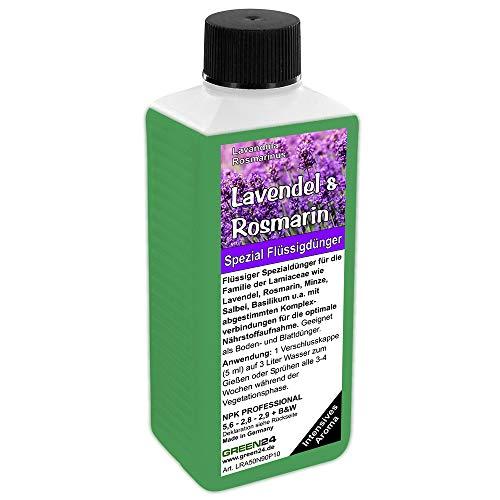 GREEN24 Lavendel & Rosmarin Dünger NPK Volldünger für Lamiaceae (Lavendula,...