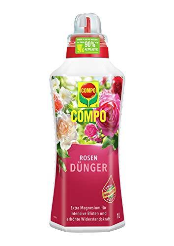 Compo Rosendünger für alle Rosen im Zimmer, in Kübeln, Beeten sowie im...