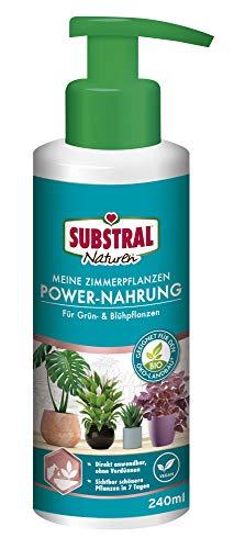 Substral Naturen Meine Zimmerpflanzen Power Nahrung, Veganer rein pflanzlicher...
