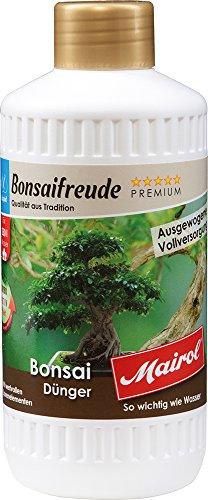 Mairol Premium Bonsai Dünger Bonsaifreude Liquid 500 ml