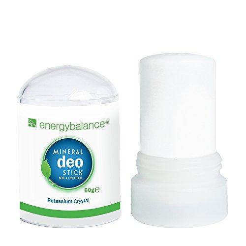 EnergyBalance Deo-Stick Kristall 60g ohne Aluminiumchloride - Für Herren und...
