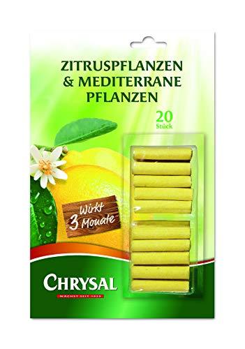 Chrysal Zitrus- & Mediterrane Pflanzen Düngestäbchen 20 Stück