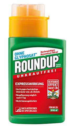 Roundup AC Unkrautvernichter Konzentrat, gegen Unkräuter, Gräser und Moos,...