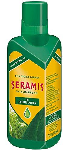 Seramis Flüssiger Pflanzendünger mit Dosierhilfe für alle Grünpflanzen,...