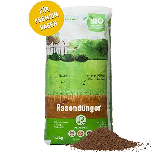 Plantura Bio Rasendünger mit 3 Monate Langzeit-Wirkung, ideal im Frühjahr und...