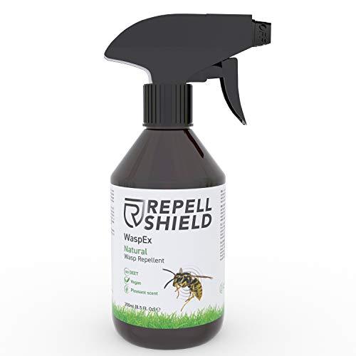 RepellShield - 100% Veganes Wespenspray als Wespenabwehr auch für Hornissen,...