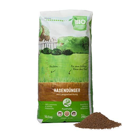 Plantura Bio-Rasendünger mit 3 Monate Langzeit-Wirkung, 10,5 kg, ideal im...