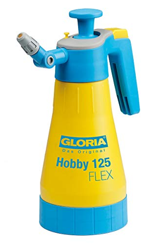 GLORIA Drucksprüher Hobby 125 FLEX | Gartenspritze | Handsprüher | 1,25 L...