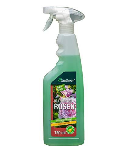 GroGreen® Feed & Shine® Rosen 750 ml Rosendünger Flüssig Gebrauchsfertig,...