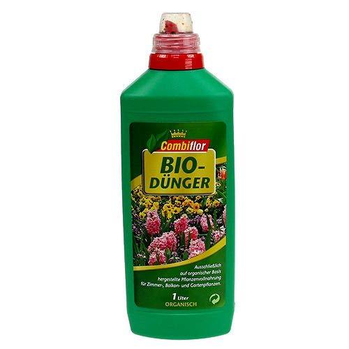 Combiflor Bio-Dünger 1 Liter - Flüssigdünger organisch öko Stickstoffdünger...