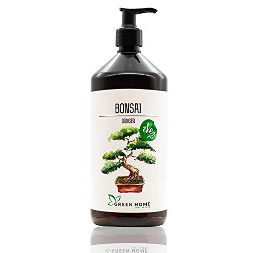 GREEN HOME LOVE NATURE®️ 1L Bonsai Dünger mit hohem Nährstoffgehalt -...