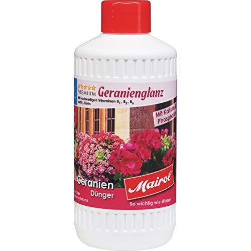 Mairol Geranien-Dünger Geranienglanz Liquid 1.000 ml