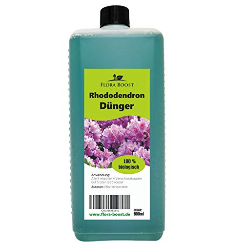 Flora Boost Rhododendron Dünger flüssig - Blütendünger Pflanzendünger -...