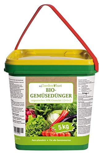 myGardenlust Bio Gemüsedünger – Naturdünger für alle Obst- und...