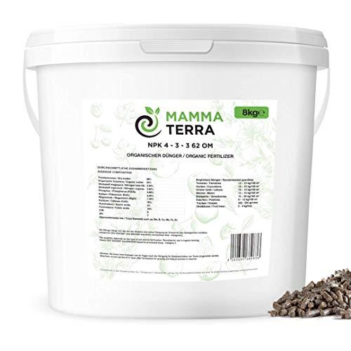 efinya Mamma Terra 8 kg NPK 4-3-3 • Universal Dünger • Gemüse • Obst •...