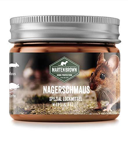Martenbrown® Nagerschmaus Spezial Lockmittel für Mäuse und...