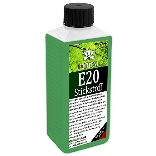 GREEN24 Purital E20 Supreme Stickstoffdünger HIGH-TECH Stickstoff Flüssig...