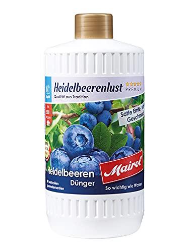 Eva Shop® Mairol Premium Heidelbeerenlust Beerendünger Liquid...
