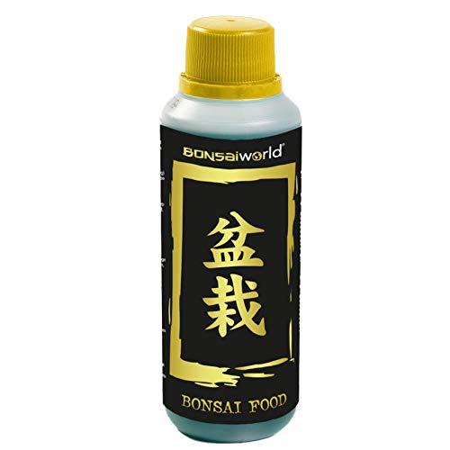 Bonsaiworld Flüssiger Bonsai-Dünger - Ideale Ergänzung für Bonzai-Bäume,...