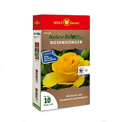 WOLF-Garten - 'Natura Bio' Rosendünger N-RO 0,85 für ca. 10 Rosen; 3854005