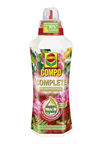 Compo COMPLETE Pflanzendünger für alle Pflanzen, Universaldünger mit Kalzium...