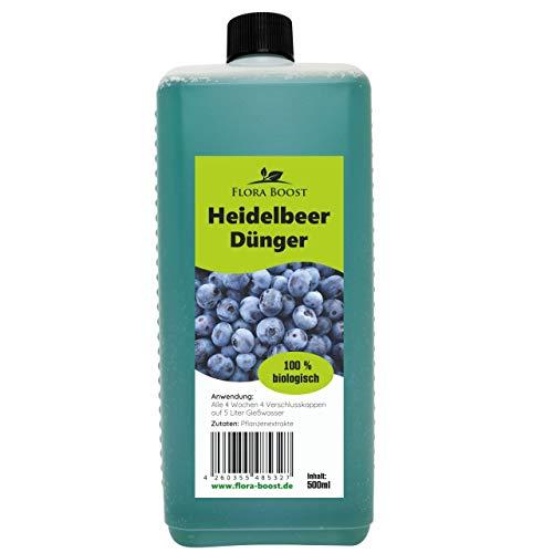 Heidelbeer Dünger flüssig - Heidelbeer Pflanzen düngen wie die Profis - Für...