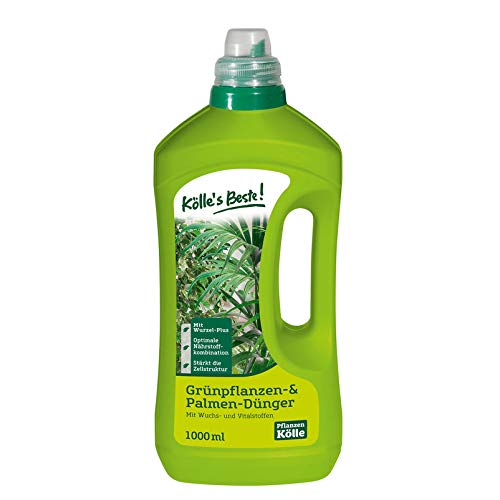 Kölle's Beste! Grünpflanzen-Dünger 1 l, Flüssigdünger für Grünpflanzen,...