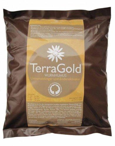 Wurmhumus TERRAGOLD 1,5l von wurmhandel - Premiumqualität aus Pferdäpfel -...