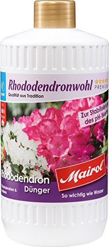 Mairol Rhododendronwohl Rhododendron-Dünger Liquid 1.000 ml