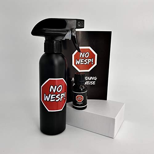 NO WESP Wespenspray Start Paket Lavendel: 1 Wespenabwehr Konzentrat (= 0,25 l) +...