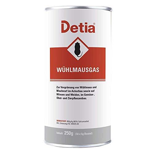 Detia Wühlmausgas, 250 g Dose