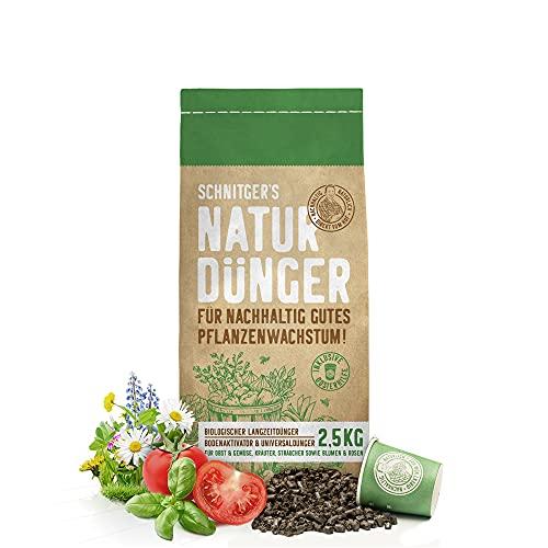 Naturdünger - Universal Pflanzendünger in Bio-Qualität - Langzeitdünger für...