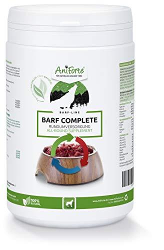 AniForte Barf Complete Pulver für Hunde 500 g - 100% Natur Rundumversorgung -...