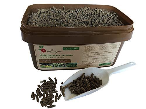 BIO-Dünger mit Guano, einsetzbar als Gemüse- und Kräuterdünger, Obst- und...