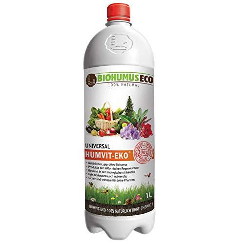 HUMVIT-EKO Universal, Natürliches, geprüftes Biohumus, BIOHUMUSECO 100%...