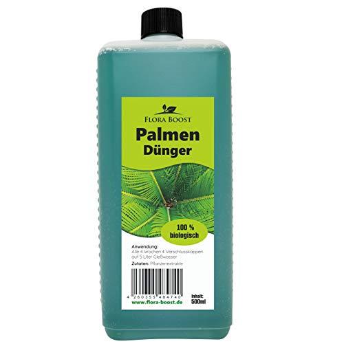 Palmendünger flüssig 500ml - bis zu 100 Liter Gießwasser - Kräftige Palmen -...