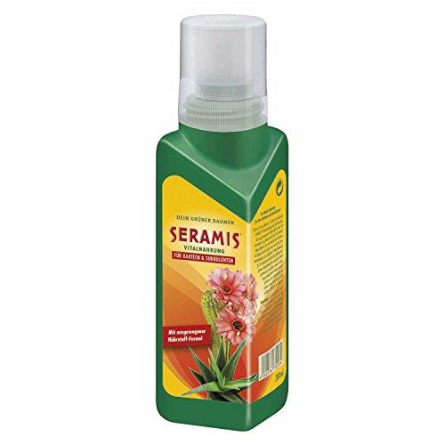 Seramis Flüssiger Pflanzendünger mit Dosierhilfe für alle Kakteen und...
