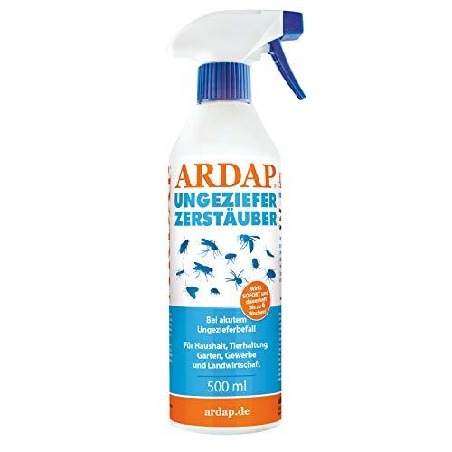 ARDAP Zerstäuber 500ml - Wirkungsvolles Insektizid gegen Fliegen, Schädlinge...