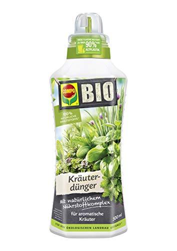 COMPO BIO Kräuterdünger für alle Gewürzpflanzen und Kräuter, Natürlicher...