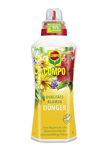 Compo Qualitäts-Blumendünger für alle Pflanzen im Zimmer, auf Balkon und...