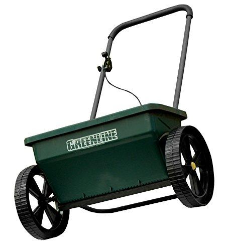 Yerd Saatgut-Streuer: Greenline patentierter Rasensaat-Streuer/Dünger-Streuer,...