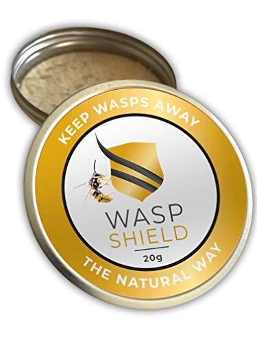 WASP SHIELD Wespenabwehrmittel I 100% Natürliche Wespenvertreibung I Ohne...