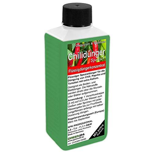 GREEN24 Chilidünger Paprikadünger Spezial Capsicum, zum düngen von Chili...