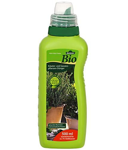 Dehner Bio Kräuter- und Gewürzpflanzen-Dünger, flüssig, 500 ml, für ca. 75...