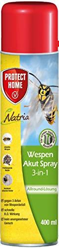 PROTECT HOME Natria Akut Spray 3-in-1 Wespenspray gegen einzelne Wespen und...