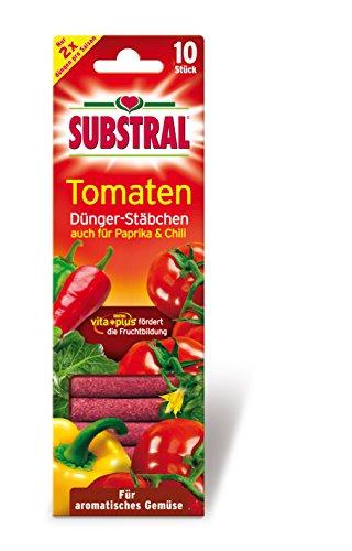 Substral Dünger-Stäbchen für Tomaten, Chili und Paprika mit Langzeitwirkung,...