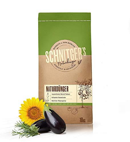 Naturdünger – Universal Pflanzendünger in Bio-Qualität – Langzeitdünger...