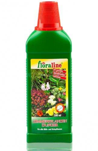 floraline 400930 Zimmerpflanzendünger NPK 6+6+6, 500ml (ALC46)